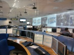 The surface control room.